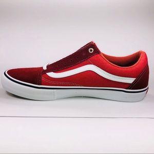 Vans Old Skool Pro Two Tone Madder Brown Sneakers NWT